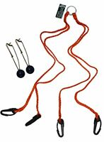 KUFA Sports Long Line Snaps with Weight and Heavy Duty 4 Point Harness Kit