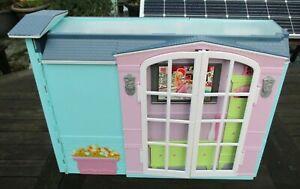 Barbie Haus klappbar, Küche, Bad, Klingel