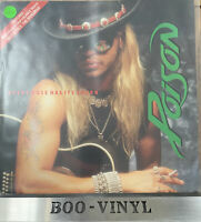 "Poison Every Rose Has It's Thorn - Gatefold 12"" vinyl single record EX / VG+"