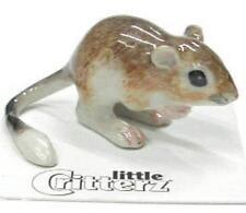 "Little Critterz Miniature Porcelain Animal Figure Kangaroo Rat ""fresno"" LC138"