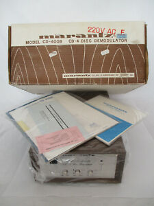 NEW Sealed Marantz CD-400B 4 Disc Demodulator