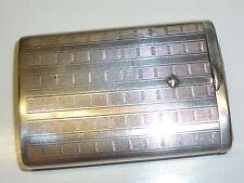 VINTAGE GERMAN ART DECO 935 SILVER MATCH BOX HOLDER - STREICHHOLZBOX -NICE PIECE