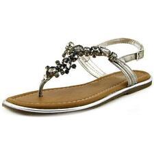 Flat (0 to 1/2 in.) Medium (B, M) Multi-Colored Sandals & Flip Flops for Women