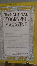 National Geographic Magazine Nat Geo March 1944 (NG22)