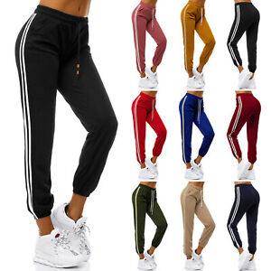 Trainingshose Jogging Sport Jogger Fitness Hose Freizeit Damen OZONEE 22 MIX 7M7