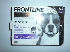 Front Line Plus for DOGS 20 Kg - 40 Kg (6 pipettes)