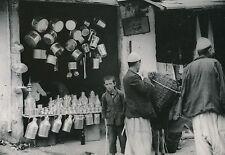 SCUTARI c. 1940 - Marchand Enfant Ferblantier  Albanie  - DIV 9792