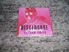 """Disclosure feat Sam Smith  rare cd single promo """"omen"""""""