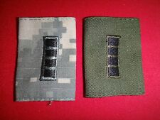 2 US Army CHIEF WARRANT OFFICER 4 CW4 ACU And Subdued Epaulets With Loops