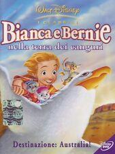 BIANCA E BERNIE NELLA TERRA DEI CANGURI - Dvd Disney Z3 DV 0055 - NUOVO
