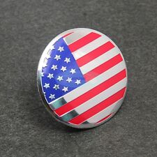 4pcs 55mm Wheel Center Hub Caps United States USA Emblem Badge Decals Sticker