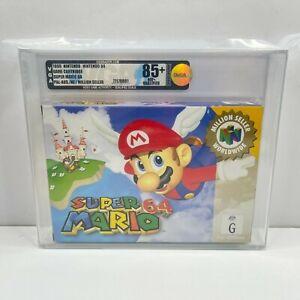VGA GRADED 85+ NM+ GOLD Super Mario 64 Nintendo 64 Game AUS PAL BRAND NEW!