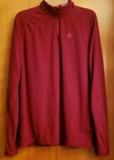 Nike ACG Red Waffle Weave Thermal 1/4 Zip Pullover S EUC
