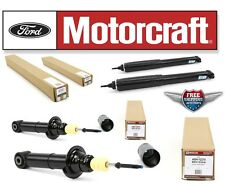 Motorcraft Set of 2 Front Strut ASH12273 + 2 Rear Shock Absorber ASH12277