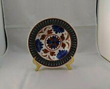 "Societe Ceramique Maestricht Holland Stick Spatterware 9"" Shallow Bowl ANTIQUE"