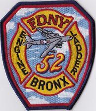 Bronx 52 NY New York Firefighter Patch