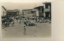 PERU INDIGENAS PAYTA STREET SHOWING HOMES OF THE NATIVES AND STREET REAL PHOTO