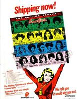 "1978 The Rolling Stones ""Some Girls"" Album Release Promo Trade Reprint Advert"