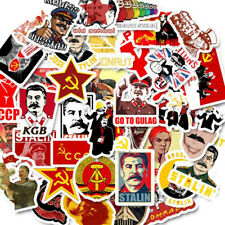 50Pcs Russia Soviet Union Sticker Skateboard Laptop Luggage Guitar Bike Dec_Diu
