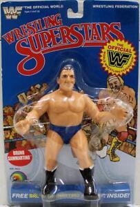 LJN Blue Card Series 3 1986 Wrestling Superstars Bruno Sammartino C-6.