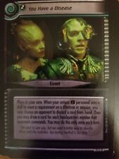 Star Trek CCG These Are the Voyages 12U32 You Have a Disease NrMint-Mint TCG