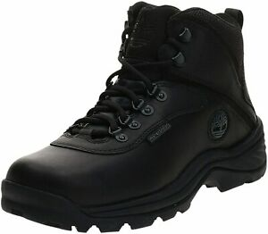Timberland Men's White Ledge Mid Waterproof Ankle Boot,Black,8 US