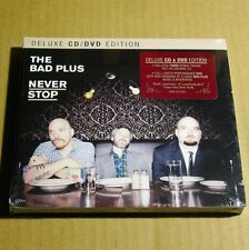 The Bad Plus - Never Stop USA Deluex Edition CD+DVD Sealed NEW Jazz #J01*