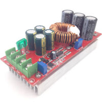 1200W high power DC-DC boost constant voltage constant current adjustable module