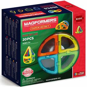 Magformers Curve 20 Magnetic Building Set