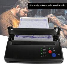 Tattoo Transfer Copier Printer Machine Thermal Stencil Paper Maker-Black NEW!!