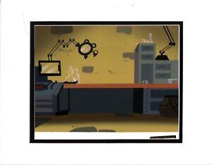 Samurai Jack hand-painted Animation Background Art Cartoon Network 2004 52