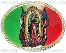 VIRGIN MARY MEXICO USA BELT BUCKLE VIRGEN DE GUADALUPE evilla