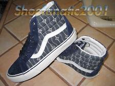 Vans Sample SK8 Hi Reissue Indigo Mood Blue White Supreme Skateboarding