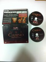 CASINO - STEELBOOK - 2 DVD - ROBERT DE NIRO MARTIN SCORSESE - CASTELLANO ENGLISH
