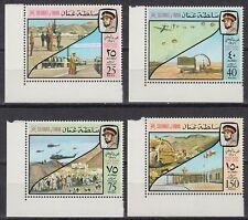 Oman 1976 ** Mi.164/69 Eckrand Nationalfeiertag Sultan [st1356]