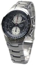 SEIKO MEN CRITERIA CHRONOGRAPH PILOT AVIATION SLIDERULE WATCH SND487 SND487P1