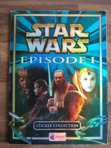 Star Wars Episode 1 Sticker Collection Complete