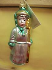 Kf7942 Patricia Breen Mrs. Shaw Lady Gardener - Green Scarf Ornament With Tag!
