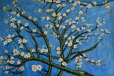 Vincent Van Gogh Almond Blossom Repro, Quality Hand Painted Oil Painting 24x36in
