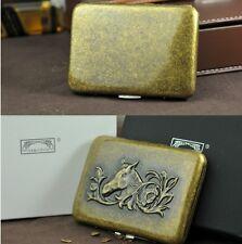 Horse Creative Personality Portable Copper Cigarette Case (Hold 16 Cigarettes)*