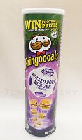 NEW Pringles Pringoooals 2020 Pulled Pork Burger Flavor Limited Edition Tube