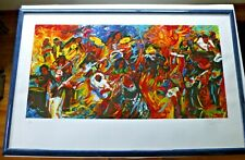 FRENCHY  GEORGE CLINTON P-FUNK SERIGRAPH  2001  SIGNED    34 x 17
