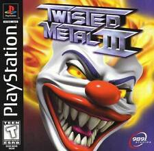 Twisted Metal 3 - PS1 PS2 Complete Playstation Game