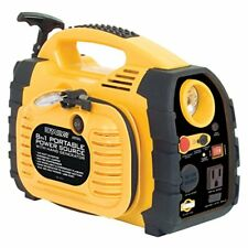 Rally Portable 8 in 1 Power Source and Jumpstarter Unit with Hand Generator