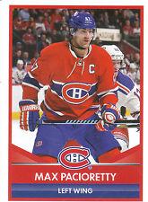16/17 PANINI NHL STICKER #106 MAX PACIORETTY CANADIENS *24773