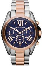 Nuevo KORS MK5606 dos tonos Rose MICHAEL Bradshaw Reloj De Oro - 2 Año De Garantía