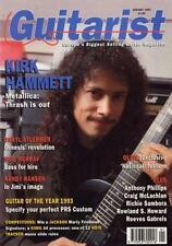 Metallica Kirk Hammett Guitarist Interview Clipping OBLIQUE