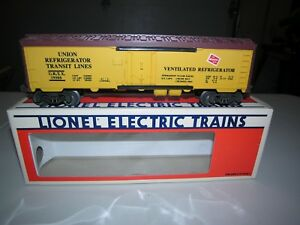 LIONEL 0 GAUGE MILWAUKEE ROAD REEFER TRAIN CAR #6-19500 NIB