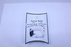 """Aenne Muslin Baby Swaddle Dino Print Bamboo Cotton Blend 47"""" x 47"""""""