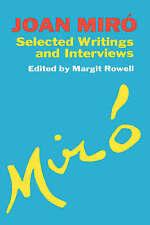 Joan Miro by Margit Rowell (Paperback, 1992)